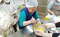 手作りクレープ